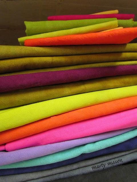 Cherrywood hand dyed fabrics