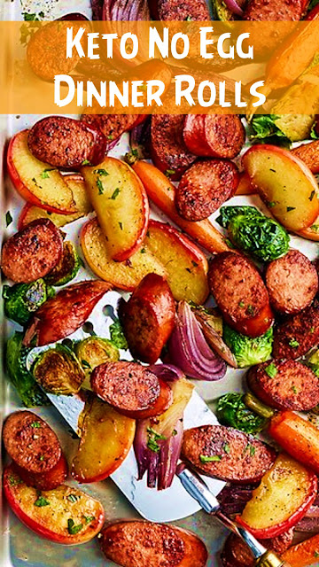 Sheet Pan Smoked Sausage, Apple, and Root Veggie