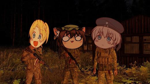 アニメとネタキャラの顔を追加するArma 3のMOD