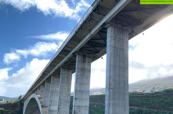 El Cabildo cerrará al tráfico el Puente  de Los Tilos por  labores de mantenimiento entre el 5  y el 9  de abril