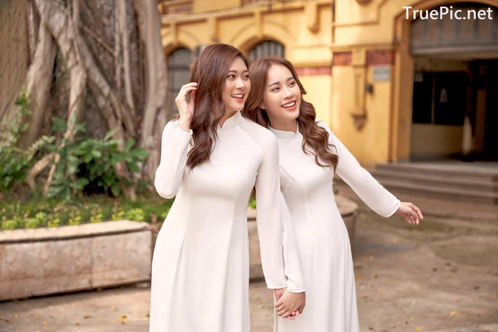Image Vietnamese Model - Vietnamese Student Dresses (Ao Dai) - TruePic.net - Picture-7