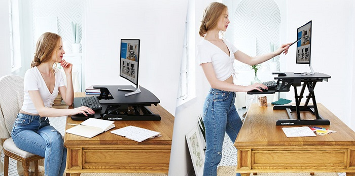 FlexiSpot M7B Standing Desk Converter – Pros & Cons