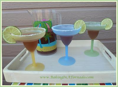 Raspberry Orange Margaritas | recipe developed by www.BakingInATornado.com | #recipe #drink
