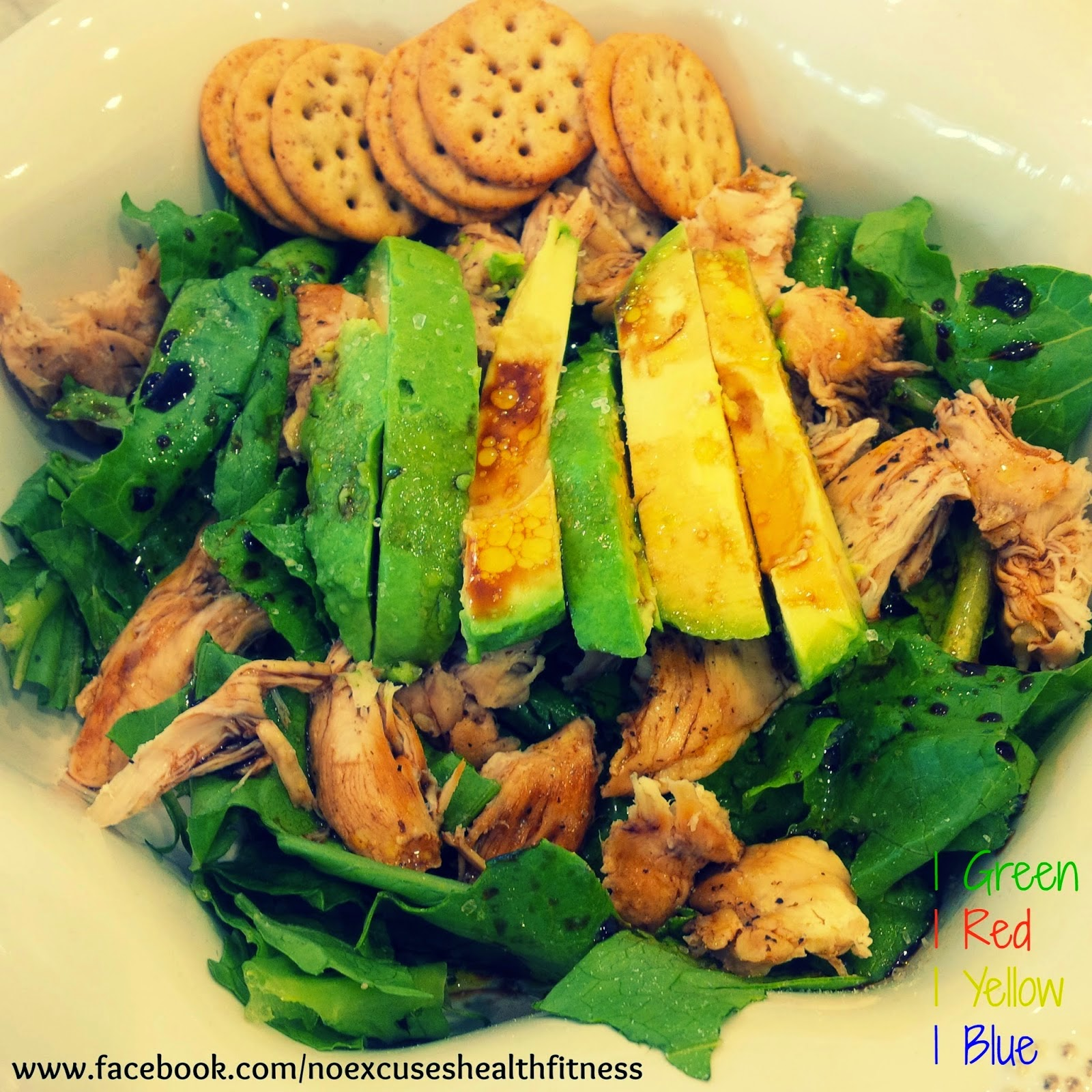 Fit And Healthy With Kirsty 21 Day Fix Recipes Easy Chicken Avocado Salad
