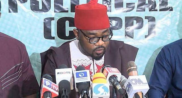 Mr Ikenga Ugochinyere, announced CUPP endorsement of Atiku
