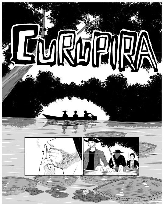 Lançamento Arte BR: Curupira - One-shot