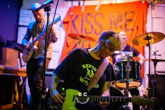 Kiss Me, Killer performing at The Red Lion, Bristol, hosted by Never Fall into Silence Records 23/9/2017