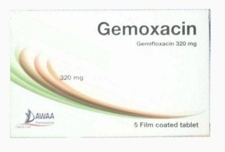 سعر ودواعى إستعمال دواء جيميفلوكساسين Gemifloxacin مضاد حيوى