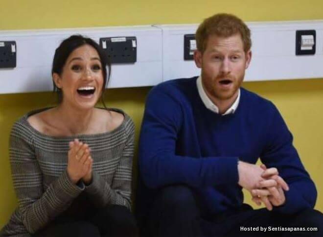 Rumah Putera Harry dan Meghan Markle Berhantu?