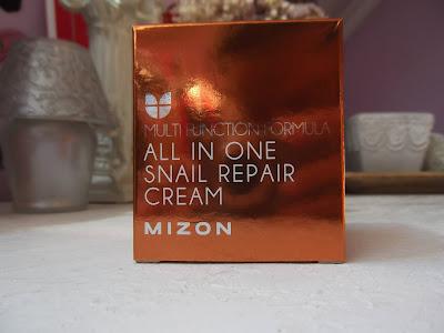 Mizon Multi Function Formula Snail regeneračný krém s filtrátom sekrétu zo slimáka 92%