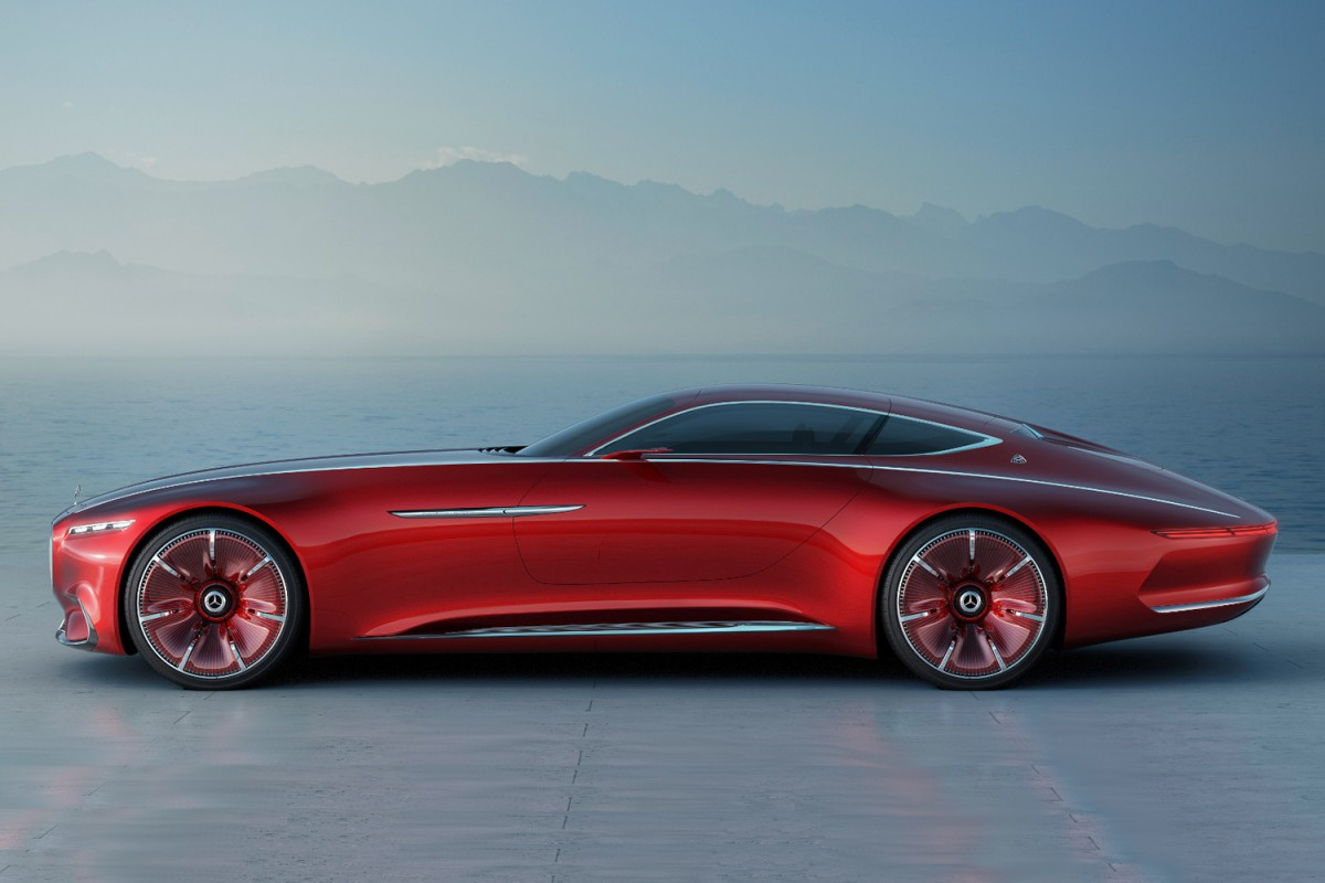 mercedes-benz maybach 6 cabriolet concept car pictures, photos
