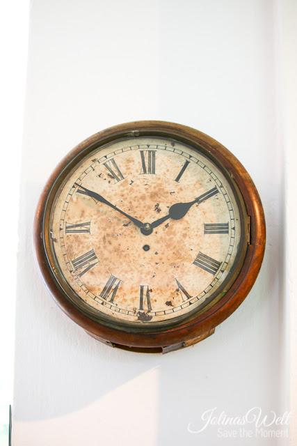 Freilichtmuseum Molfsee Norddeutschland alte Uhr