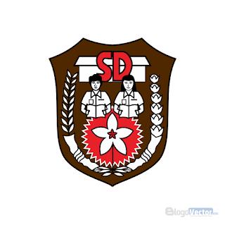 Sekolah dasar (SD) Emblem Logo vector (.cdr)