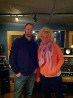 Anne Burrell voice over Threshold Recording Studios NYC