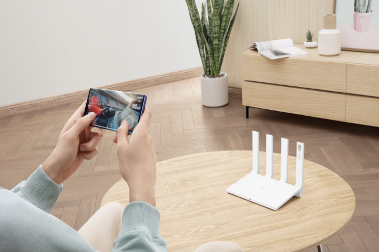 Pre-order HUAWEI WiFi AX3 6 Plus router and get FREE HUAWEI Band 4 worth ₱1,890