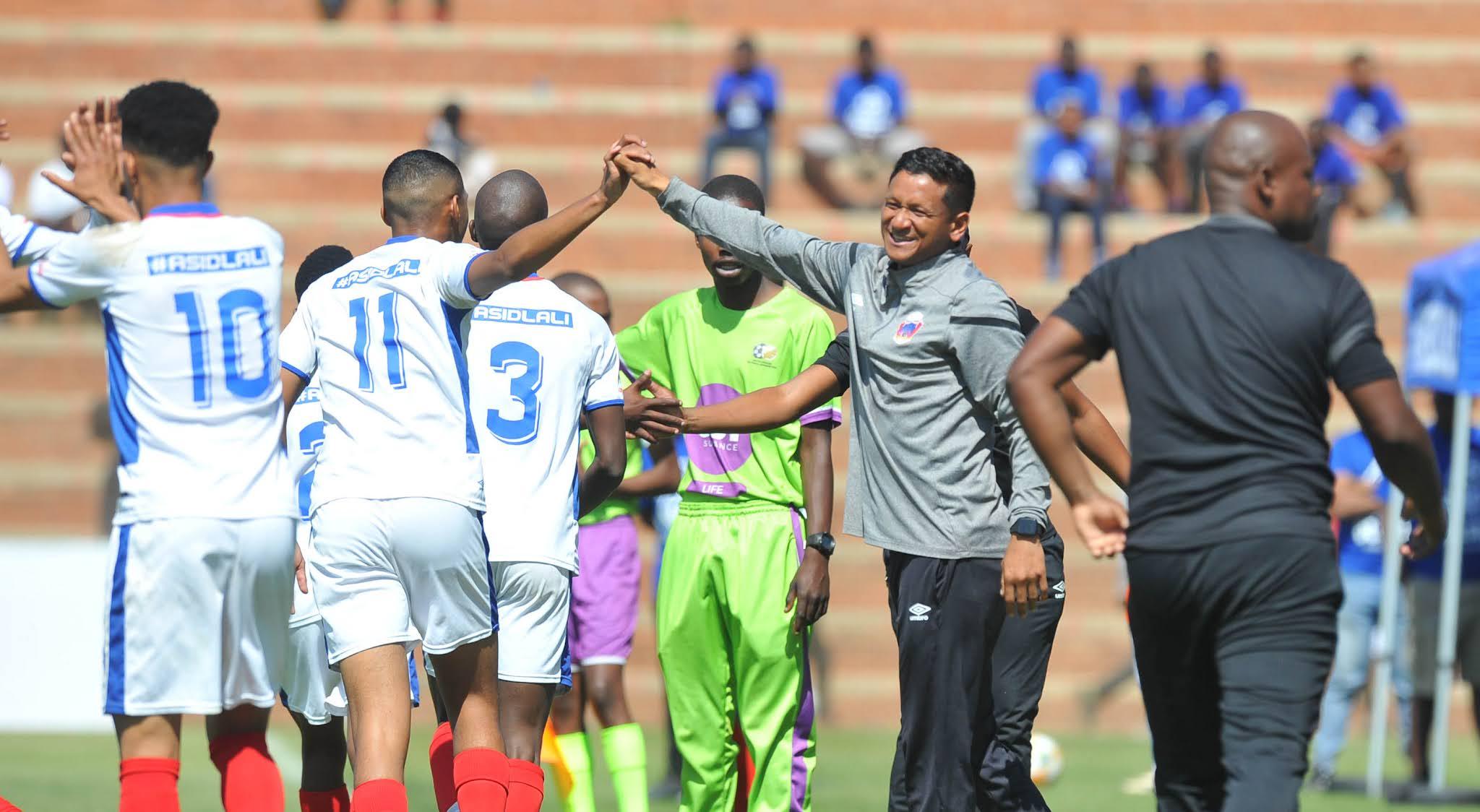 Daine Klate's MDC team Chippa United