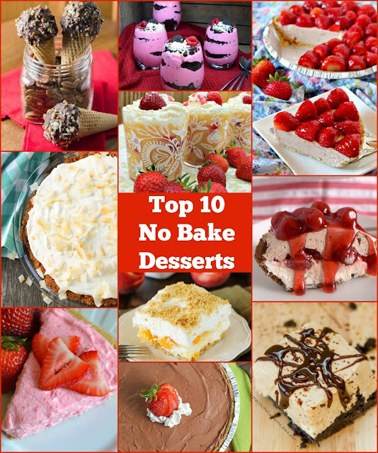 Top 10 No Bake Desserts!