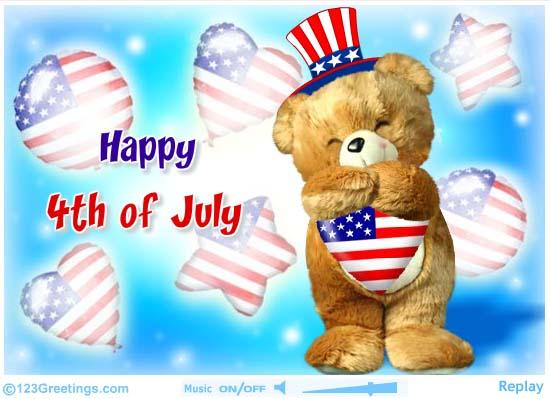 Happy 4th July Wallpaper 2017