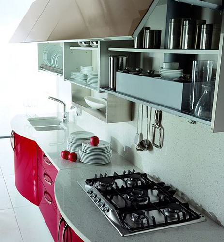 Modern Kitchen - Interior Design trend: modern cosmopolitan kitchen design photos