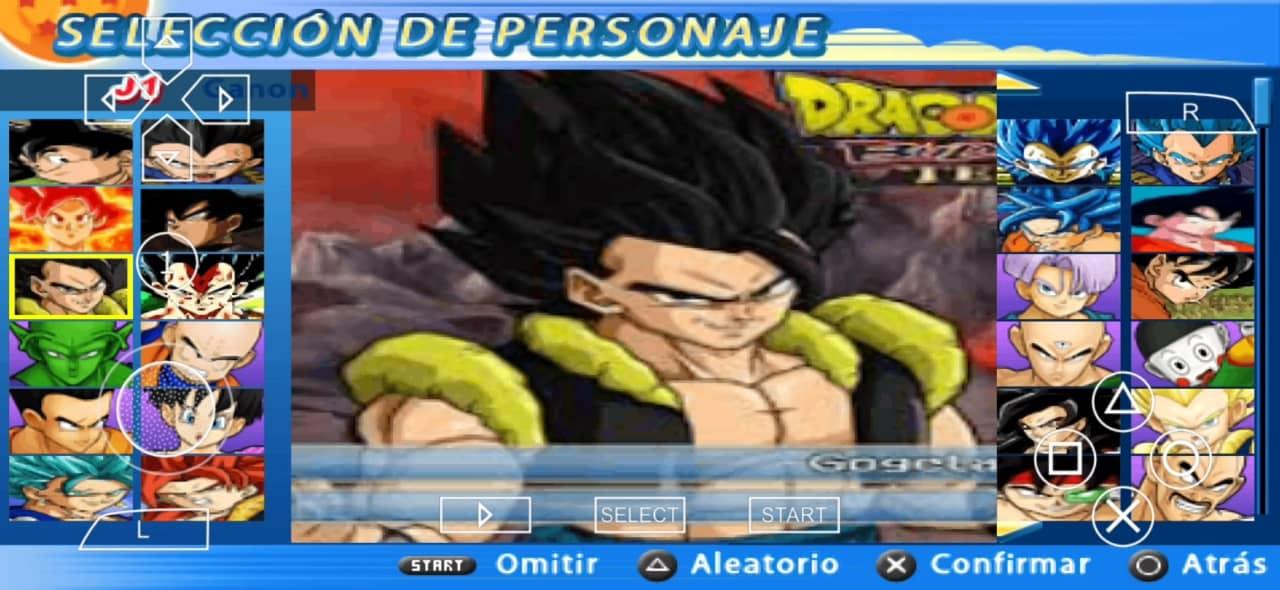 DBZ TTT Mod Download with Menu