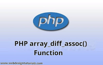 PHP array_diff_assoc() Function