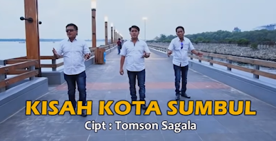 lirik lagu Kisah Kota Sumbul Nahanson Trio