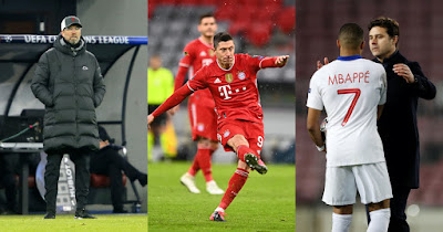 ترتيب فرص بلوغ ربع النهائي في دوري أبطال أوروبا