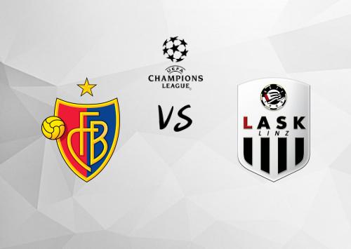 Basilea vs LASK Linz  Resumen