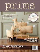 I am SOO HONORED!! To have some of my Goofy Jacks In the Sept. 2012 Issue of PRIMS