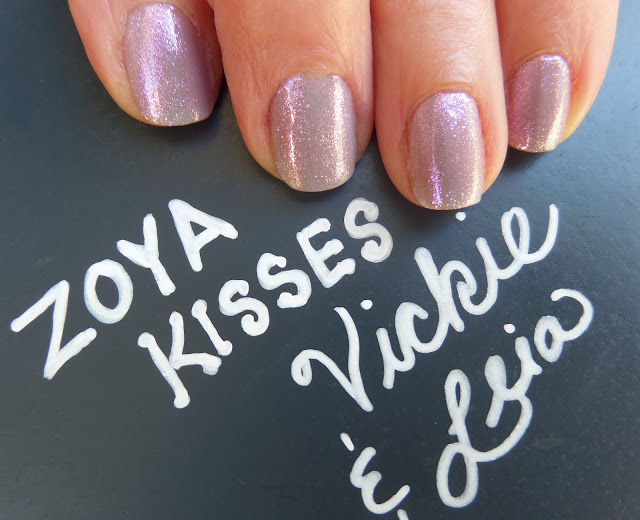 zoya vickie and leia swatch