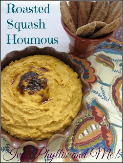 ROASTED BUTTERNUT SQUASH HOUMOUS
