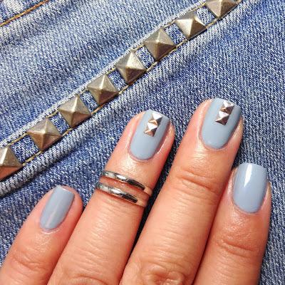 Denim Nails