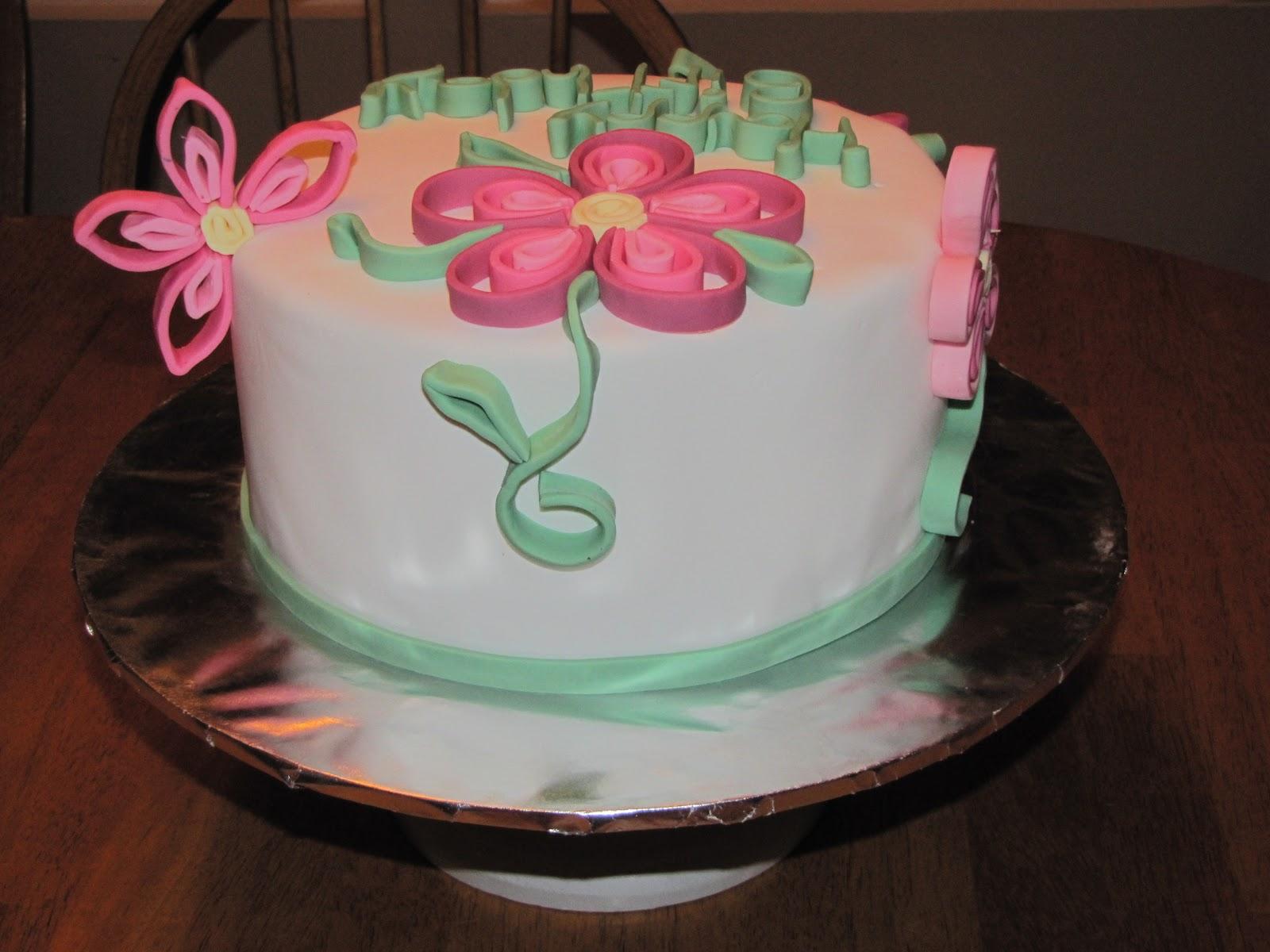 Tj Happy Cakes Quilling Cake