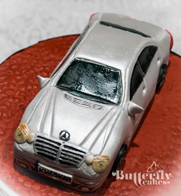 Butterfly Cakes Bradford Mercedes Benz Cake Tutorial
