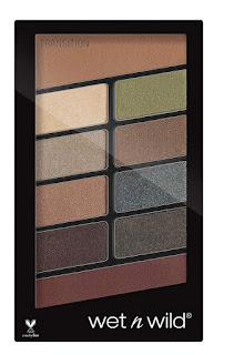 wet n wild color comfort zone icon 10 pan palette, multi-color.