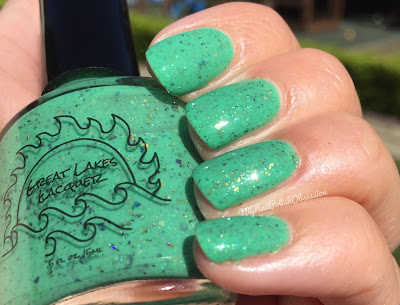 A Box Indied April, Take Me Out To The Ballgame; Great Lakes Lacquer If You Swatch It They Will Come