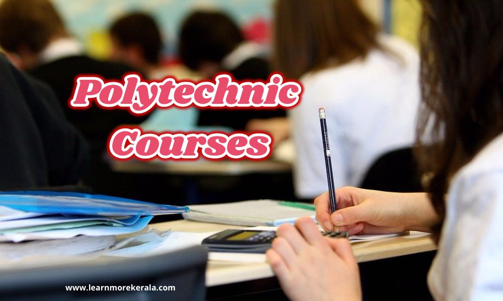 kerala polytechnic courses
