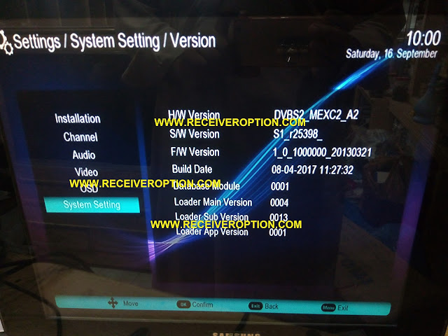SUPER GOLDEN LAZER 2015 EXTREM HD RECEIVER POWERVU KEY SOFTWARE