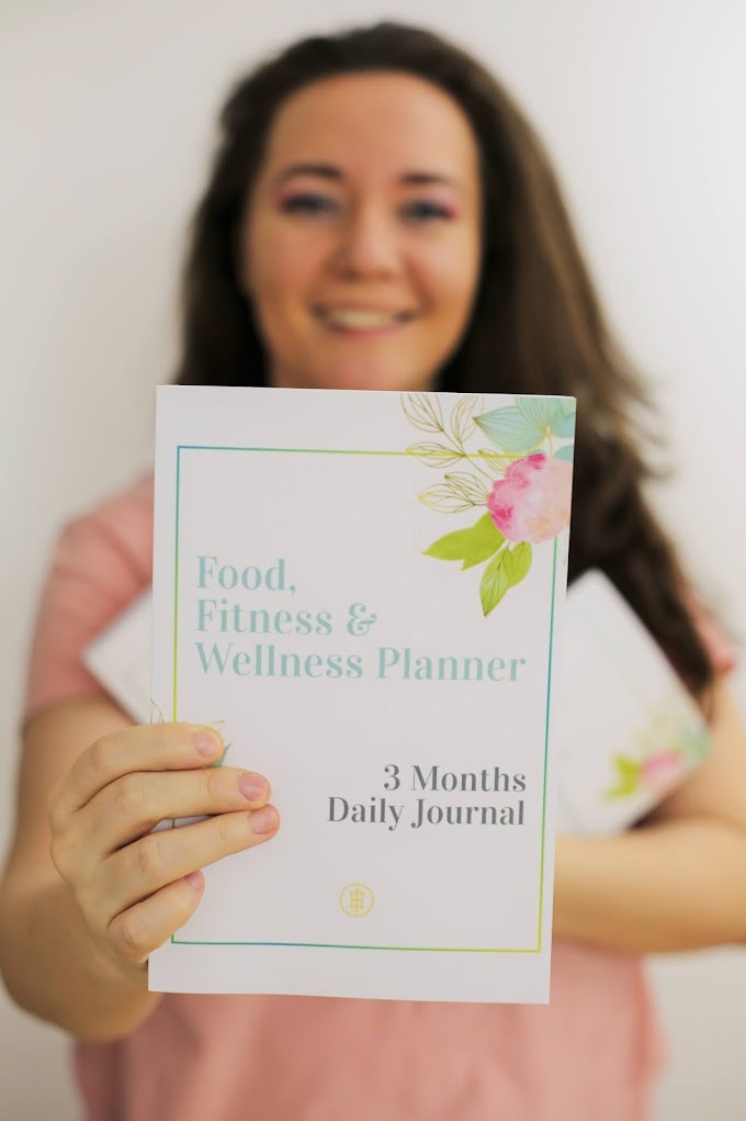 My new book: The Food Fitness and Wellness Planner