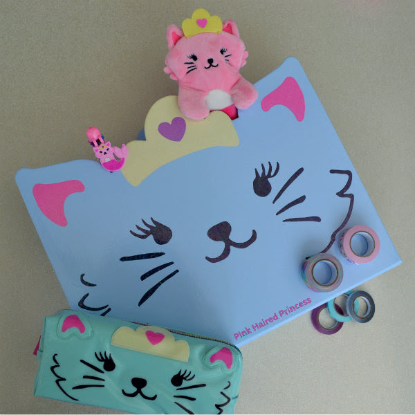 paperchase purr maids blue cat filing unit