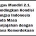 Tugas Mandiri 2.1. Bandingkan Kondisi Bangsa Indonesia Pada Masa Penjajahan dengan Masa Kemerdekaan