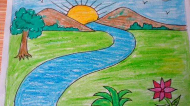 Gambar Pemandangan Alam Anak Sd Kelas 5 - Gambar Kehidupan