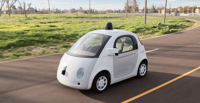 self-drive car google