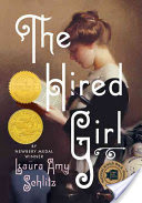 The hired Girl book cover