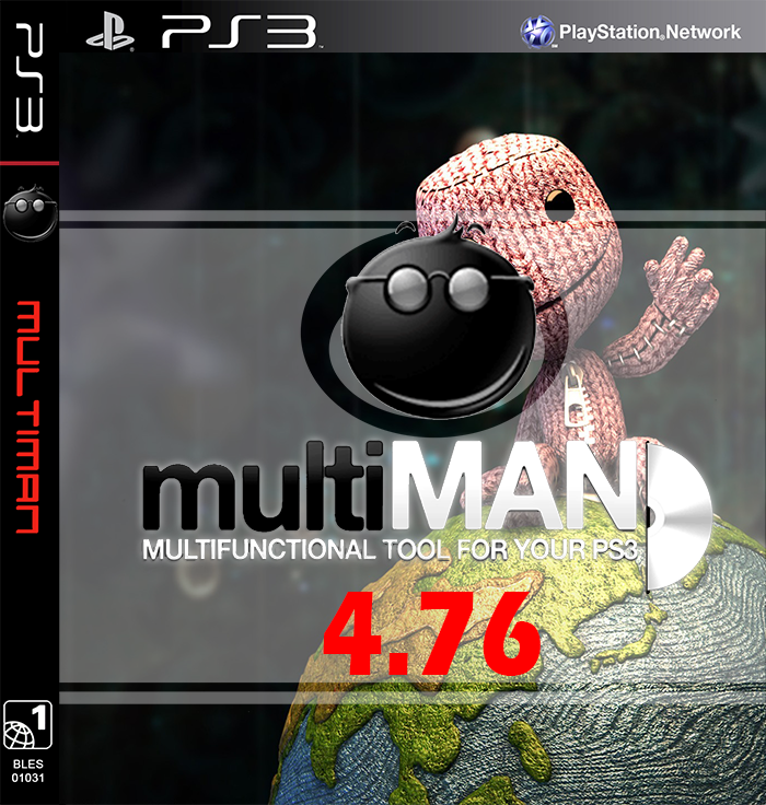 multiman ps3 4.55 gratuit