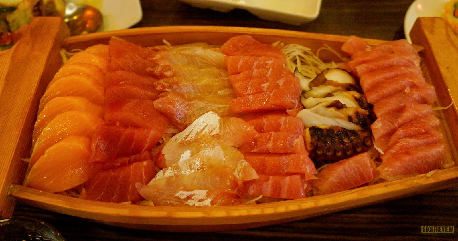 genji m sashimi