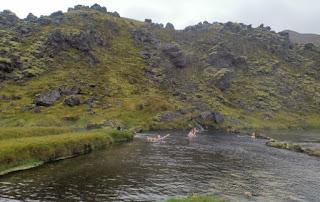Baños naturales de Landmannalaugar. Islandia, Iceland