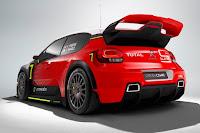 Citroën C3 WRC 2017 Concept Rear Side