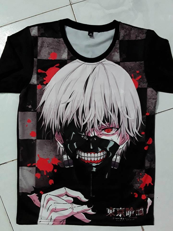 Mẫu áo thun in Anime đẹp - Hình 5