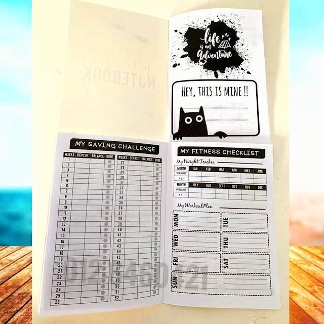 Mini Planner dan Kalendar Murah di Selangor dan KL